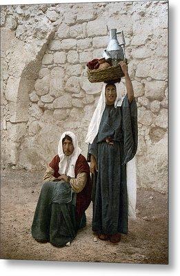 Jerusalem Women, C1900 Metal Print by Granger