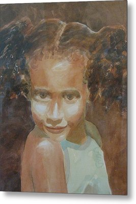 Metal Print featuring the painting Jessica by John  Svenson