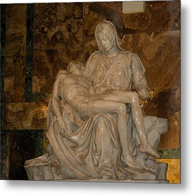 Jesus And Mary Metal Print by Bonita Hensley