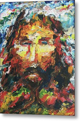 Jesus Are You There Metal Print by Suzanne  Marie Leclair