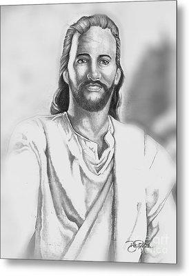 Jesus Metal Print by Bill Richards