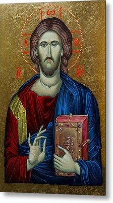 Jesus Christ Metal Print by Claud Religious Art