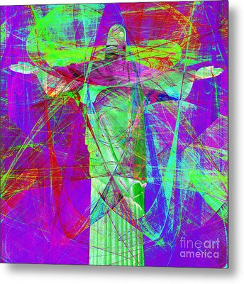 Jesus Christ Superstar 20130617m118 Square Metal Print by Wingsdomain Art and Photography
