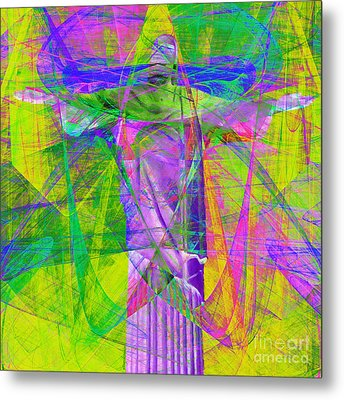 Jesus Christ Superstar 20130617p32 Square Metal Print by Wingsdomain Art and Photography