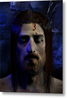 Jesus In Death Metal Print