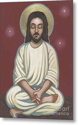 Metal Print featuring the painting Jesus Listen And Pray 251 by William Hart McNichols