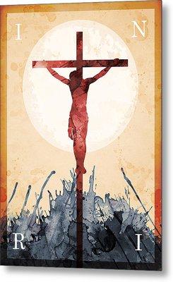 Jesus Our Savior Metal Print