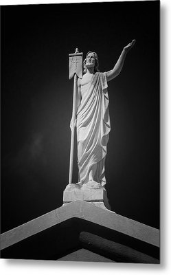 Jesus St Louis Cemetery No 3 New Orleans Metal Print by Christine Till