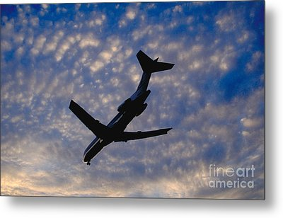 Jet Take Off Metal Print by Will and Deni McIntyre