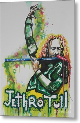 Jethro Tull Metal Print