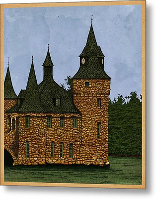 Jethro's Castle Metal Print by Meg Shearer