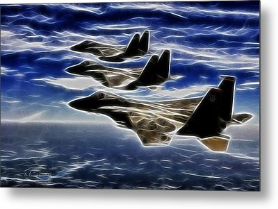 Jets Metal Print by Maciek Froncisz
