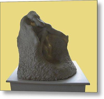 Jeux De Nymphes By Rodin Metal Print by Manuela Constantin