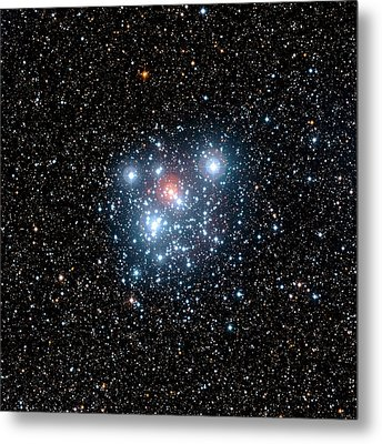 Jewel Box Star Cluster Metal Print by European Southern Observatory