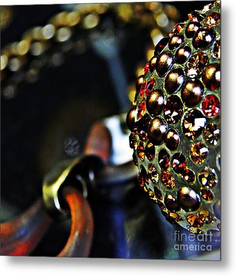 Jeweled Metal Print by Sarah Loft