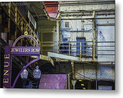 Jewelers Row Metal Print