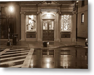 Metal Print featuring the photograph Jewelry Shop by Paul Miller