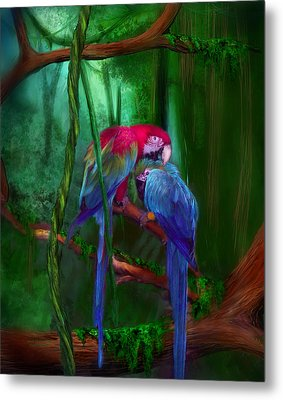 Jewels Of The Jungle Metal Print