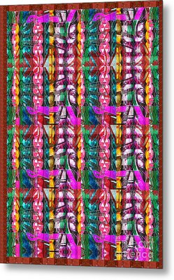 Beads Jewels Strings Fineart By Navinjoshi At Fineartamerica.com Unique Decorations Pod Gifts Source Metal Print by Navin Joshi