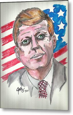 JFK Metal Print by The GYPSY And DEBBIE