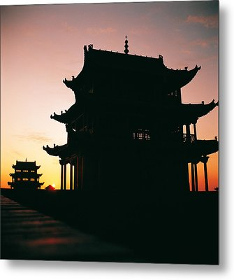 Metal Print featuring the photograph Jia Yu Guan by Yue Wang