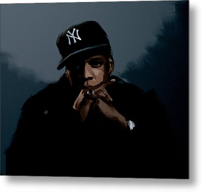 Jiggaman Jay Z Metal Print