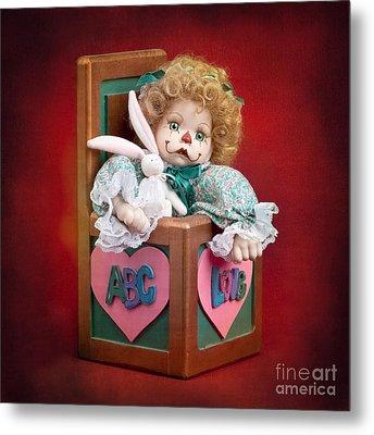 Jill In The Box Metal Print by Cindy Singleton