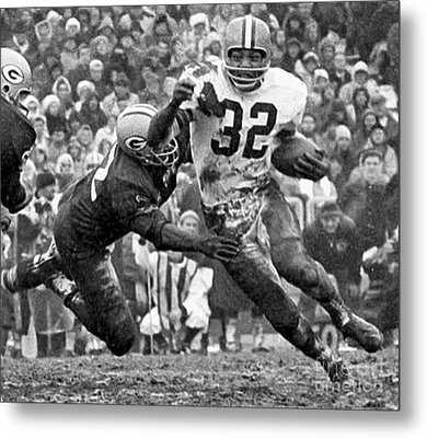 Jim Brown #32 Metal Print