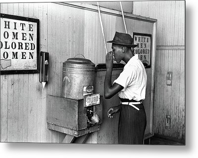 Jim Crow Laws, 1939 Metal Print by Granger