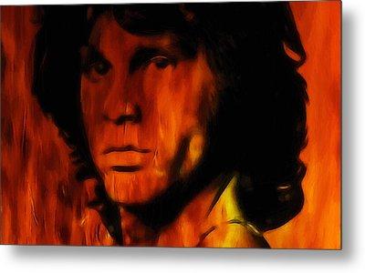 Jim Morrison Metal Print by Steve K