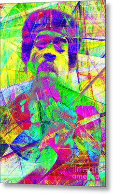 Jimi Hendrix 20130613 Metal Print by Wingsdomain Art and Photography