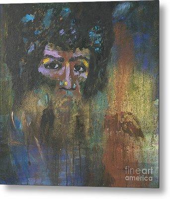 Jimi Hendrix Metal Print by Vic  Mastis
