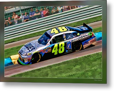 Jimmie Johnson Metal Print