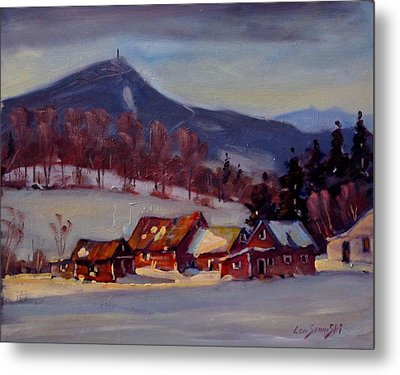 Metal Print featuring the painting Jimmie's Place by Len Stomski