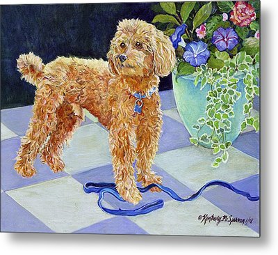 Jimmy Caruso Metal Print by Kimberly McSparran