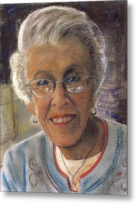 Jim's Mom Lois  Metal Print by Randy Sprout