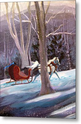 Jingle Bells A Metal Print