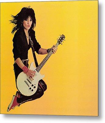 Joan Jett - Album 1983 Metal Print by Epic Rights