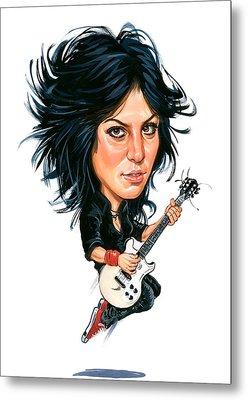 Joan Jett Metal Print by Art