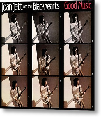 Joan Jett - Good Music 1986 Metal Print by Epic Rights