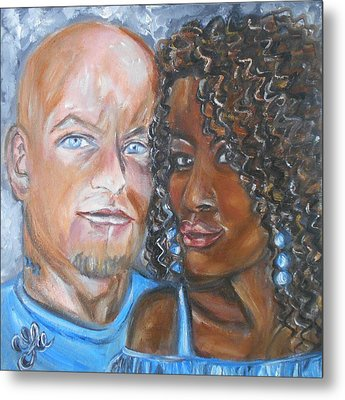 Joe And Jess Metal Print