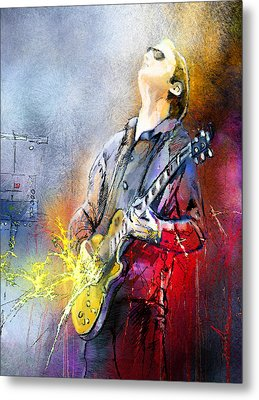 Joe Bonamassa 02 Metal Print by Miki De Goodaboom