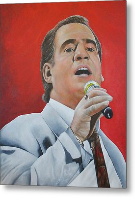 Joe Dolan Metal Print by David Dunne