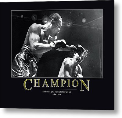 Joe Louis Champion  Metal Print by Retro Images Archive