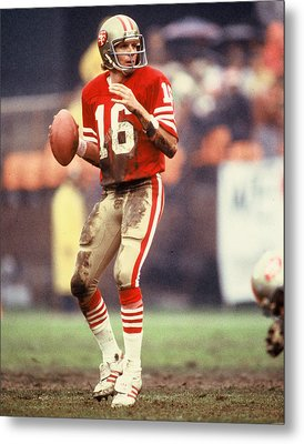 Joe Montana Metal Print by Retro Images Archive