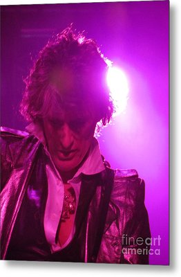Metal Print featuring the photograph Joe Perry Picture by Jeepee Aero