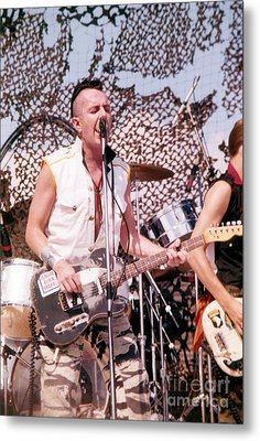 Joe Strummer Metal Print