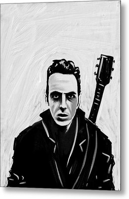 Joe Strummer Metal Print by Jeff DOttavio