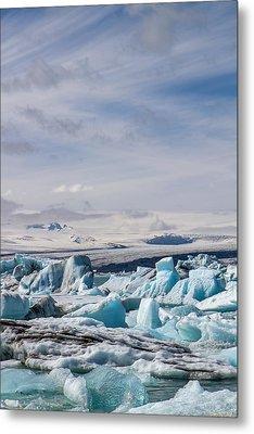 Joekulsarlon Glacial Lagoon Metal Print