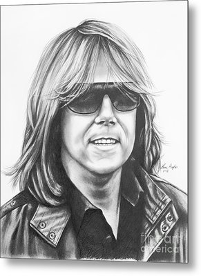 Joey Tempest Metal Print by Lena Auxier